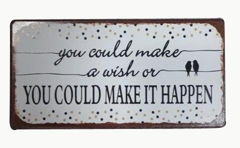 """Magnet, """"You could make a wish"""""""