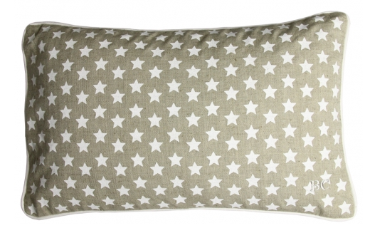 Bastion Collections Kissen, Stars beige