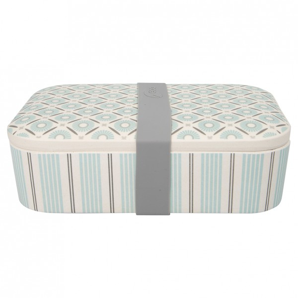 GreenGate Bambus Lunch Box Nicoline Beige
