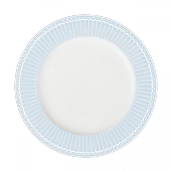 GreenGate Essteller / Dinnerplate, Alice Pale Blue
