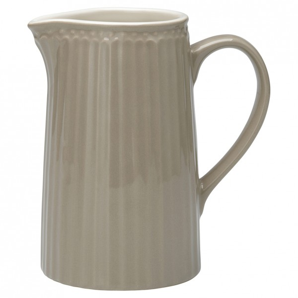 GreenGate Krug / Jug, Alice Warm Grey