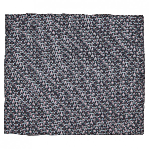 GreenGate Quilt / Bed Cover Victoria Dark Grey