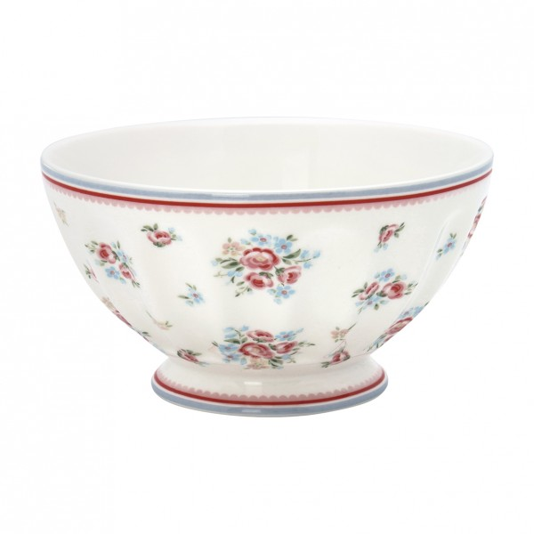 GreenGate Schale / French Bowl Nicoline White, xlarge