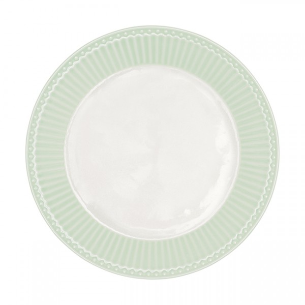 GreenGate Teller / Plate, Alice Pale Green