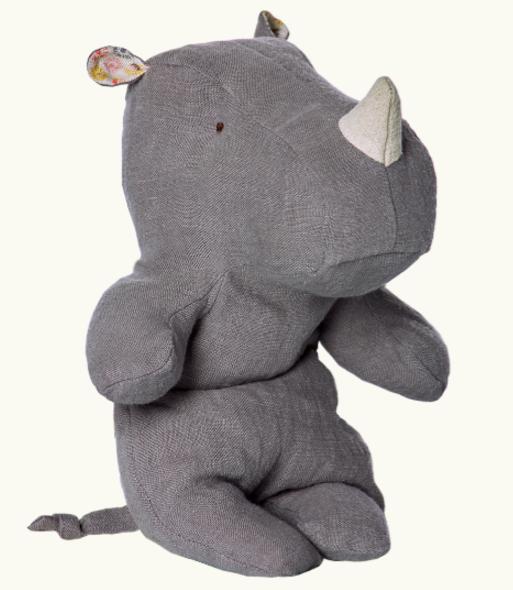 Maileg, Little Rhino, Grey