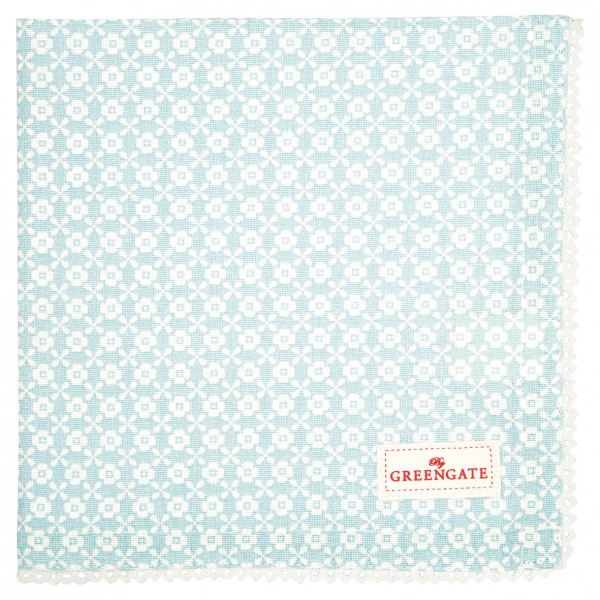 GreenGate Stoffserviette Helle Pale Blue