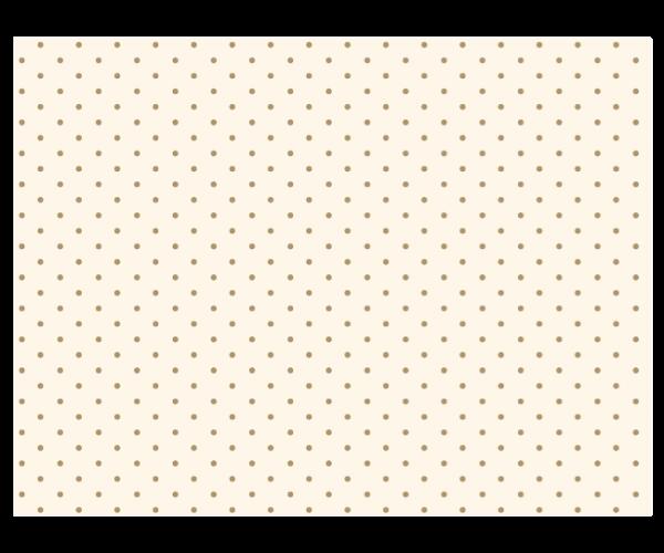 Maileg Seidenpapier Naturweiß/Gold