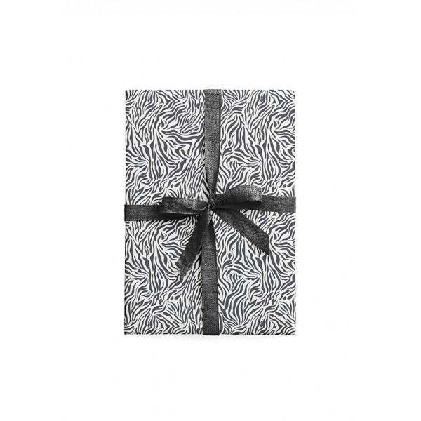 Tafelgut, Geschenkpapier Zebra im 2er Set