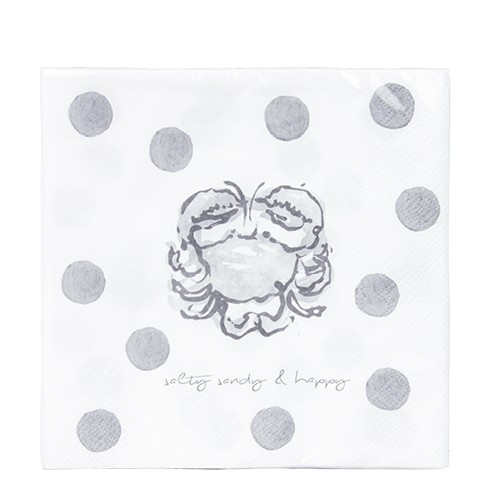 Bastion Collections Papierservietten Crab Salty Candy