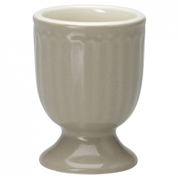 GreenGate Eierbecher / Egg Cup, Alice Warm Grey