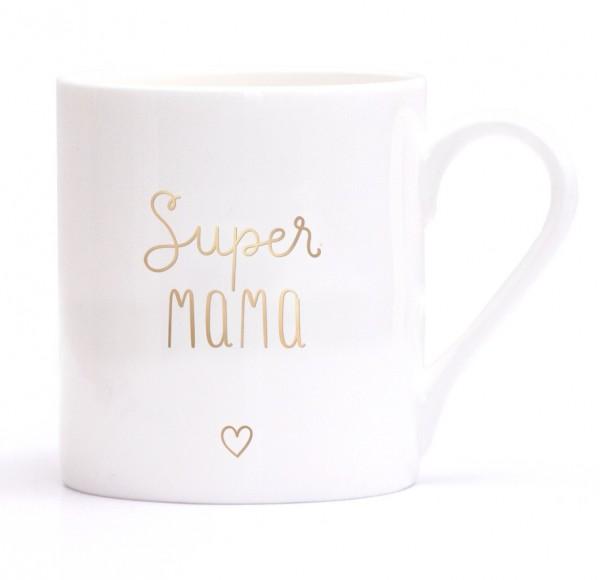 Eulenschnitt Fine Bone Becher Super Mama