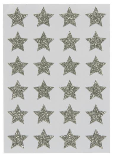 Ib Laursen Aufkelber Sterne, 24 Stück