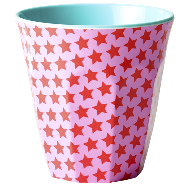 Rice Melamin Becher, Girls Star Print