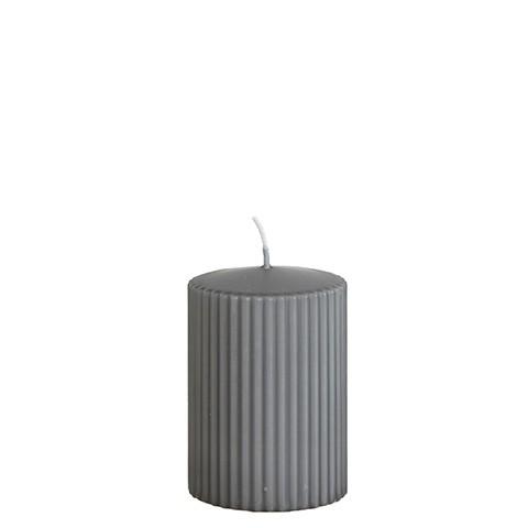 Affari Kerze Rill Grau, klein