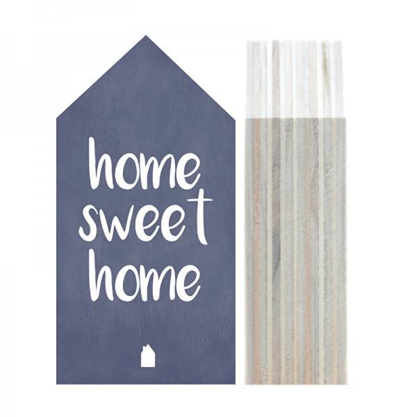 "Dots Lifestyle, Holzhäuschen ""Home Sweet Home"", new pink (hellrosa), mittel"