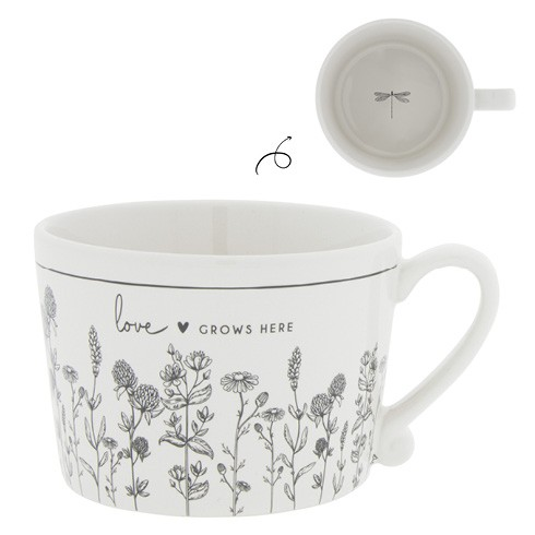 Bastion Collections Cup White / Love grows here
