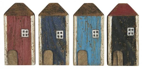 Ib Laursen Holzhäuschen mit weißem Fenster