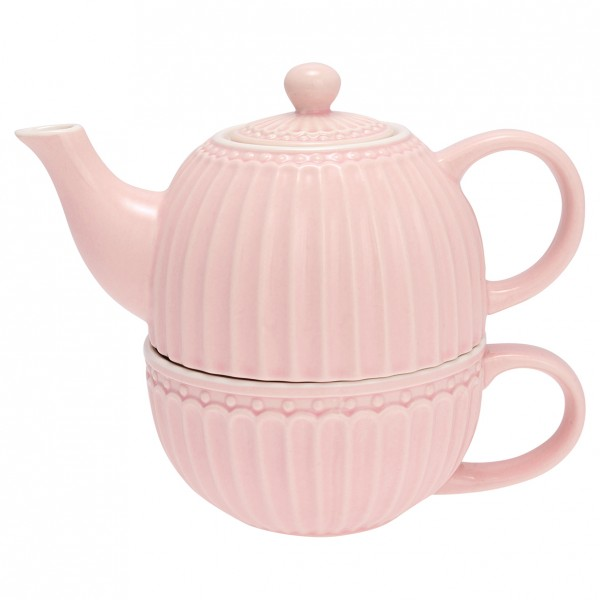 Greengate Tea for One, Alice Pale Pink
