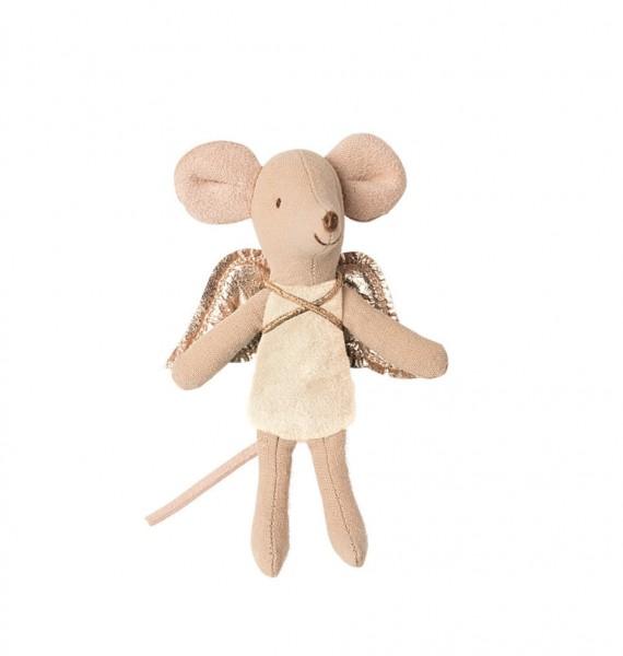 Maileg, Fairy Mouse, little sister, Beige