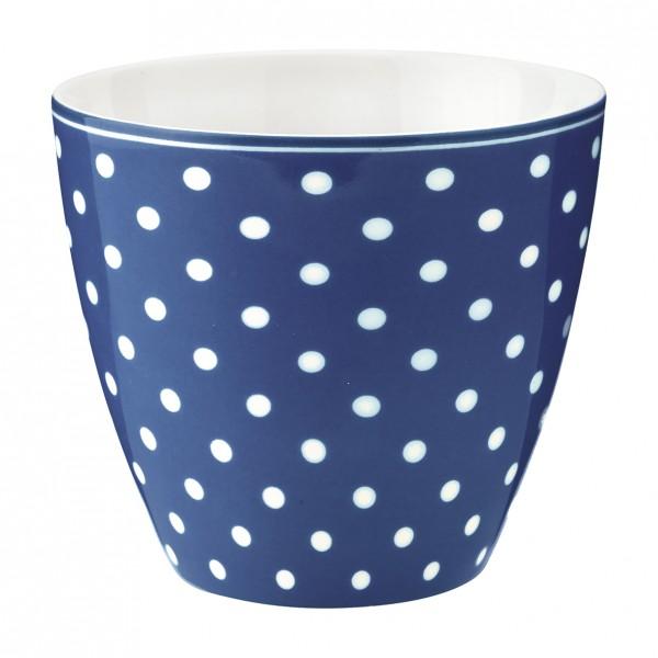 Greengate Latte Cup Spot Blue (dunkelblau)