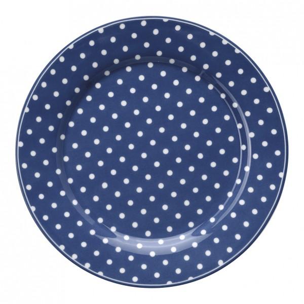 Greengate Teller Spot Blue (dunkelblau)