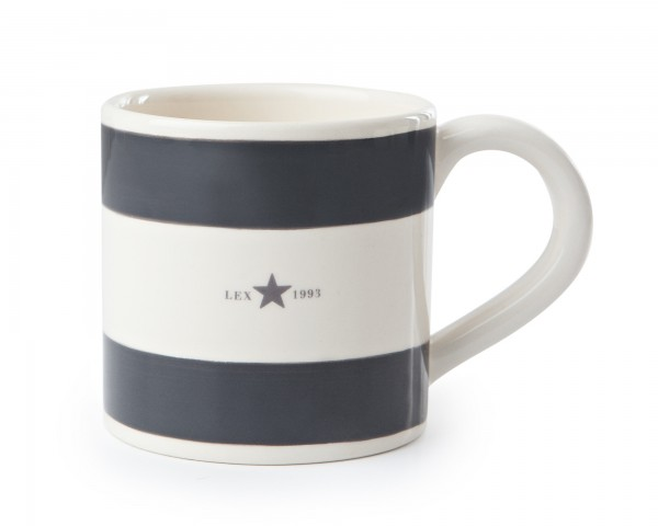 Lexington Mug/Henkeltasse, grau