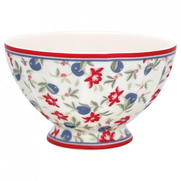 GreenGate Schale / French Bowl Helena White, medium