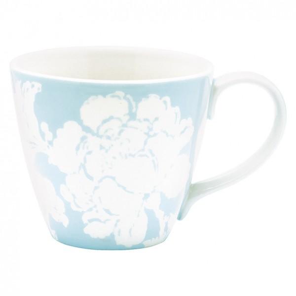 GreenGate Henkeltasse / Mug Ingrid Pale Blue