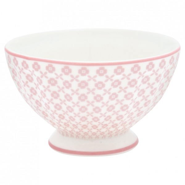 GreenGate Schale / French Bowl Helle pale pink, medium
