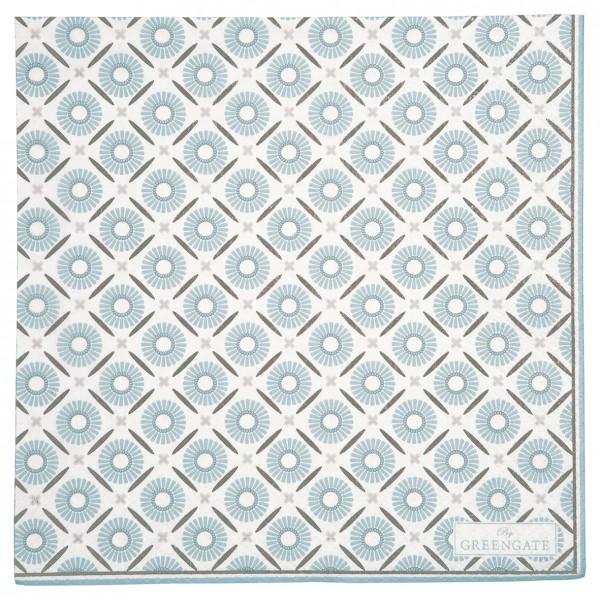 GreenGate Papierserviette Alva White