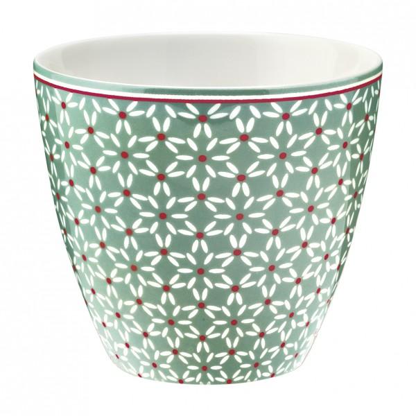 Greengate Latte Cup Juno Green