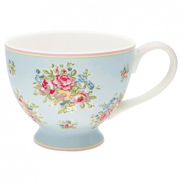 GreenGate Teetasse Franka pale blue