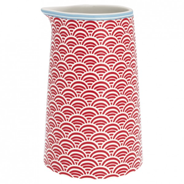 GreenGate Krug / Jug Nancy Red 0,4 l