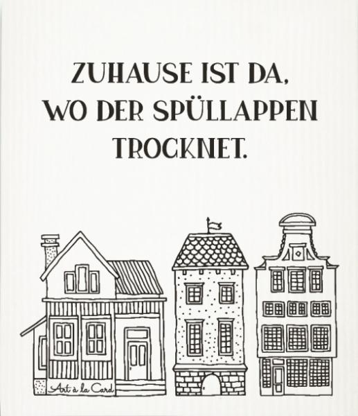 Art á la Card Schwammtuch Zuhause