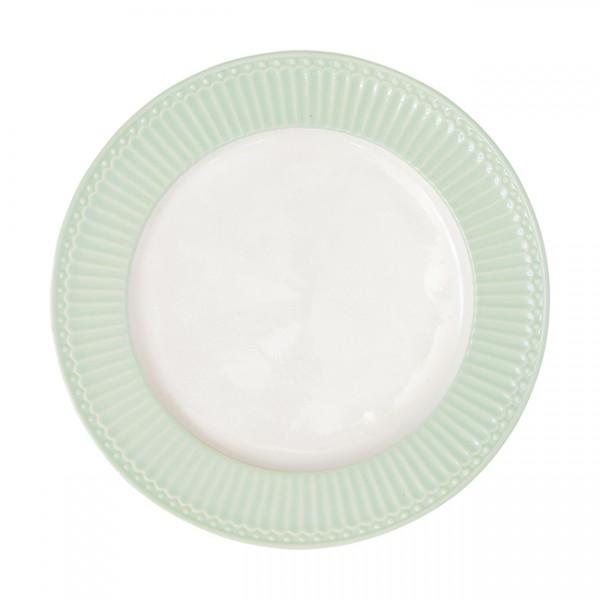 GreenGate Essteller / Dinnerplate, Alice Pale Green