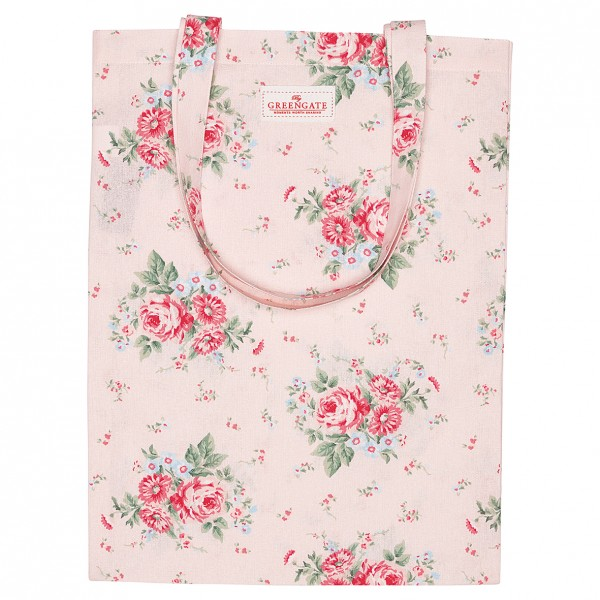 GreenGate Stofftasche / Bag Cotton Marley Pale Pink
