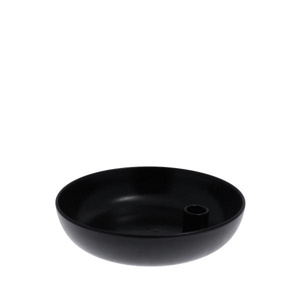 Storefactory Kerzenhalter Lidatorp schwarz (leicht glänzend), xlarge