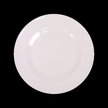 Rice Melamin Teller, Weiß