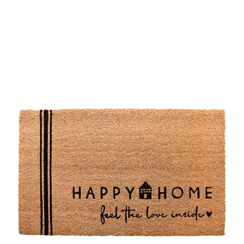 Fussmatte Happy Home