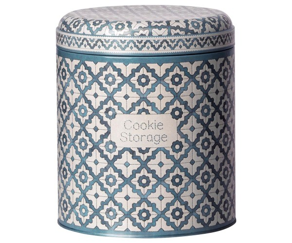 Maileg Vorratsdose Cookie Storage, blau-weiß