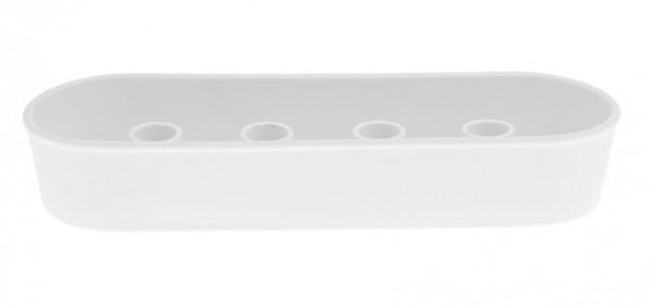 Storefactory Kerzenhalter Granbäcken für 4 Stabkerzen, weiß