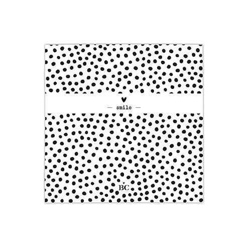 Bastion Collections Kleine Papierservietten Dots & Smile