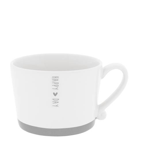 Bastion Collections Cup Happy Day in Grey