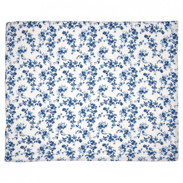 GreenGate Quilt / Bed Cover Vanessa Blue