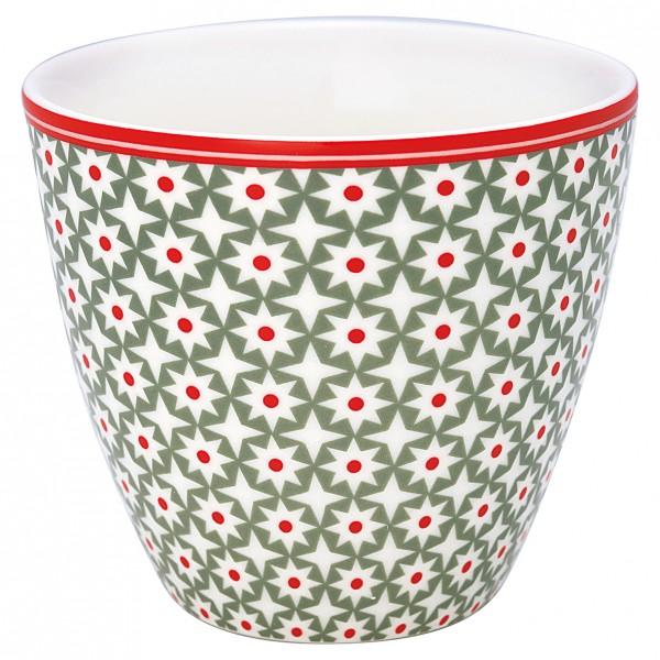 Greengate Latte Cup Lara Green