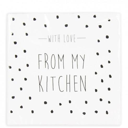 Bastion Collections Papierservietten Love from my kitchen