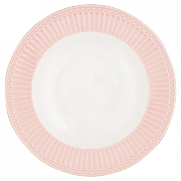 Greengate Deep Plate / Tiefer Teller Alice Pale Pink
