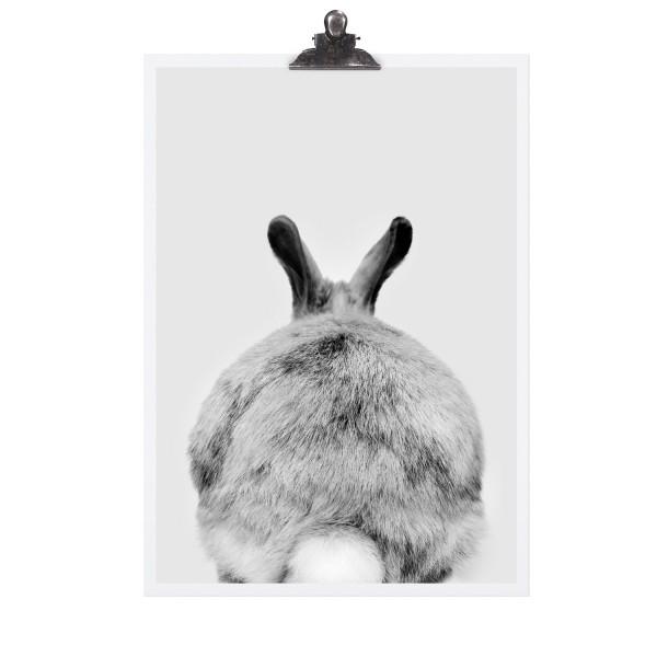 "Tafelgut Poster ""Rabbit"""