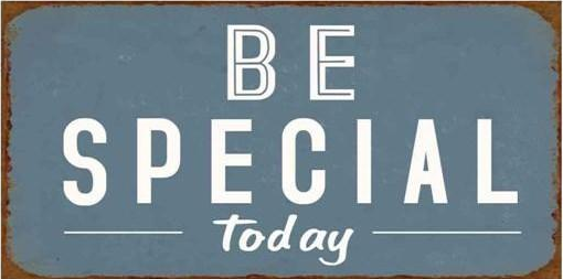 Magnet, Be special-Today.