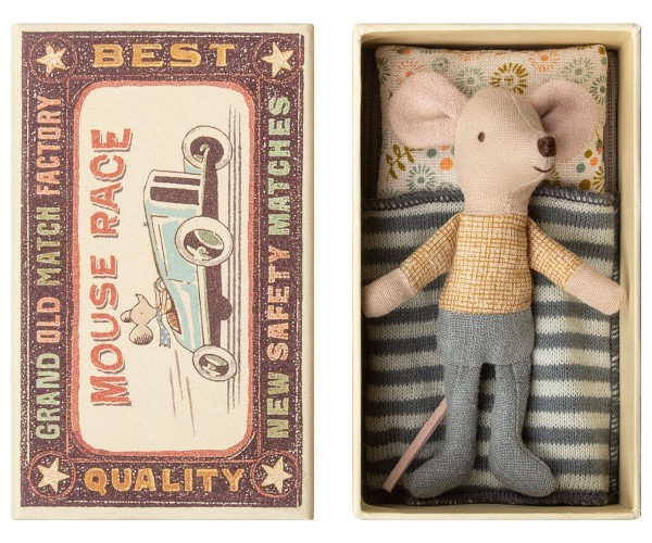 Maileg Maus Little Brother Mouse in a Box